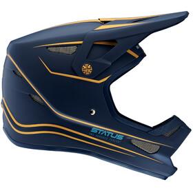 100% Status DH/BMX - Casco de bicicleta - azul